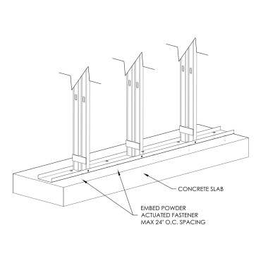 Base of Wall Attachment